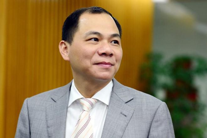 Ông Phạm Nhật Vượng tăng hơn 200 bậc trong bảng xếp hạng tỷ phú giàu nhất thế giới của Forbes