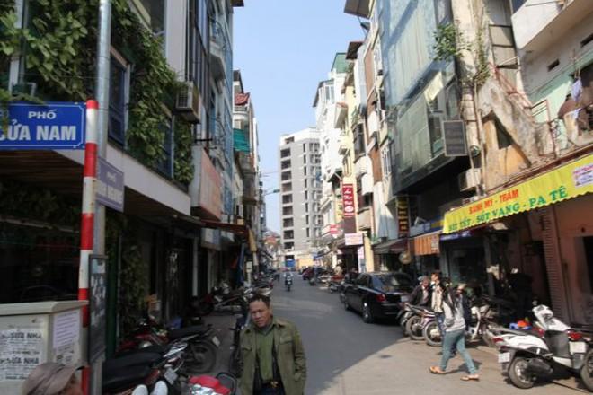 Ngõ đi chung thành… của riêng tại phố Cửa Nam, Hoàn Kiếm
