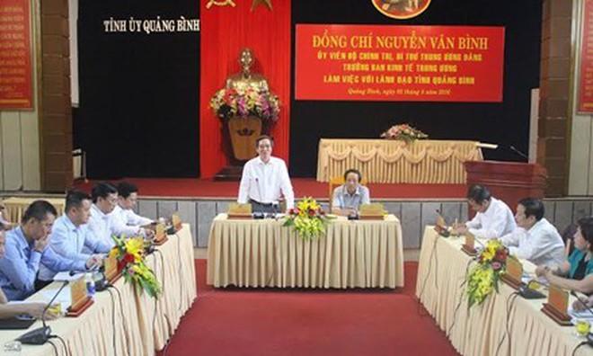 Quảng Bình đề xuất triển khai một loạt dự án lớn