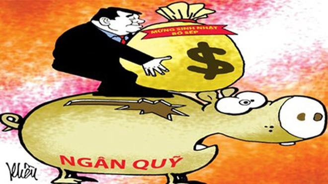 Công ty con của PVC chi hơn nửa tỷ đồng mừng sinh nhật bố ông Thanh