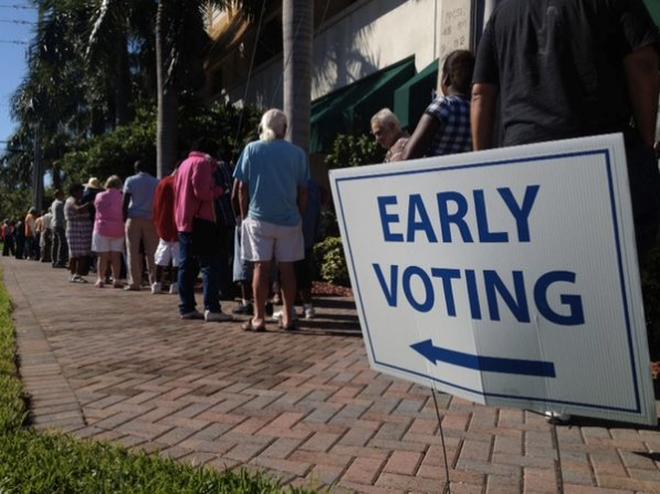 Cử tri Mỹ bỏ phiếu bầu tổng thống sớm