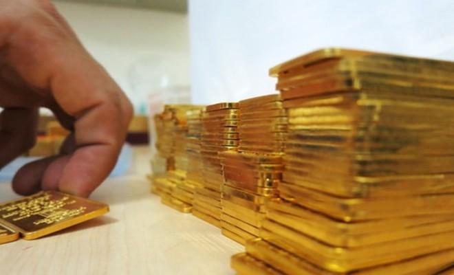Giá vàng tăng mạnh trong phiên mở cửa đầu năm mới