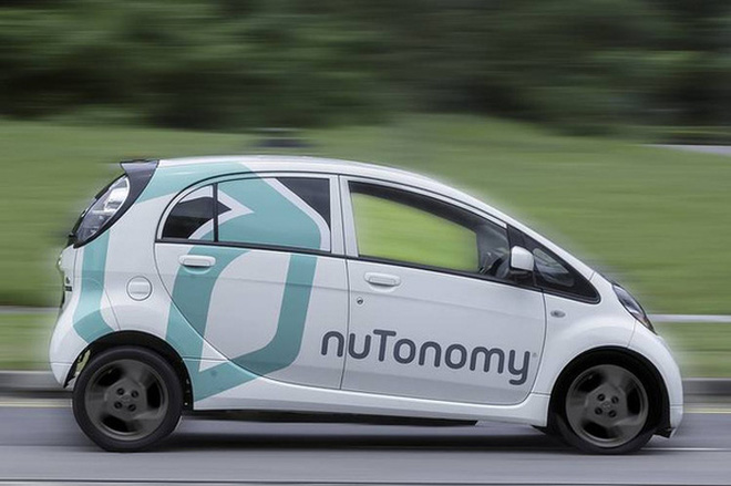 Singapore đã cho chạy taxi tự lái đầu tiên trên thế giới từ hôm nay