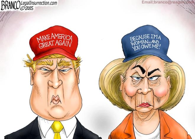 """Ngoài ông Trump và bà Clinton, đừng quên hai người """"bí ẩn"""" cũng đang chạy đua vào Nhà Trắng"""
