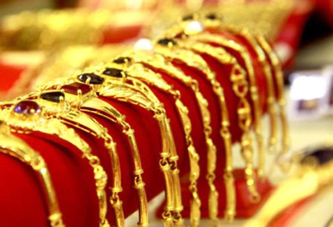 Tuần qua, giá vàng tăng 120 nghìn đồng mỗi lượng