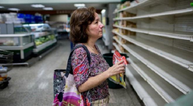 """""""Sạch sành sanh"""" ngoại tệ, NHTW Venezuela cầu cứu nước ngoài"""