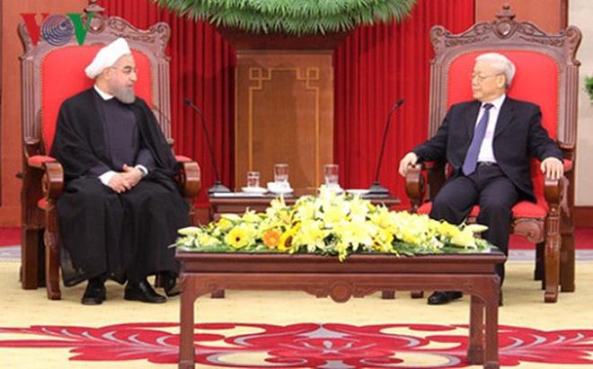 Thúc đẩy quan hệ hữu nghị hợp tác Việt Nam - Iran