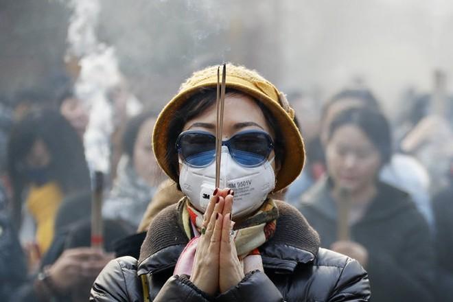 Sương mù dày đặc che kín Bắc Kinh chỉ trong 20 giây