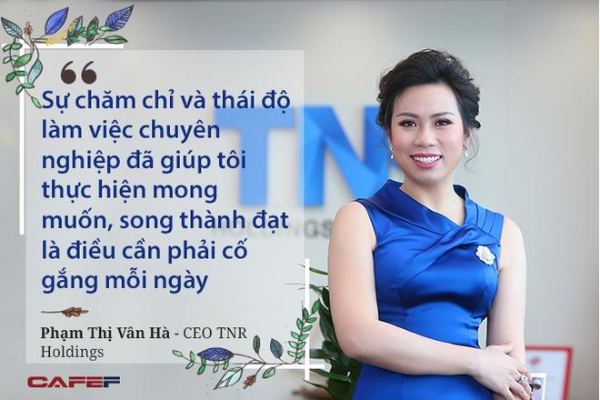 """Chủ tịch TNR Holdings Việt Nam: """"Tôi muốn làm một người đàn bà thép nhưng giống như một dòng nước"""""""