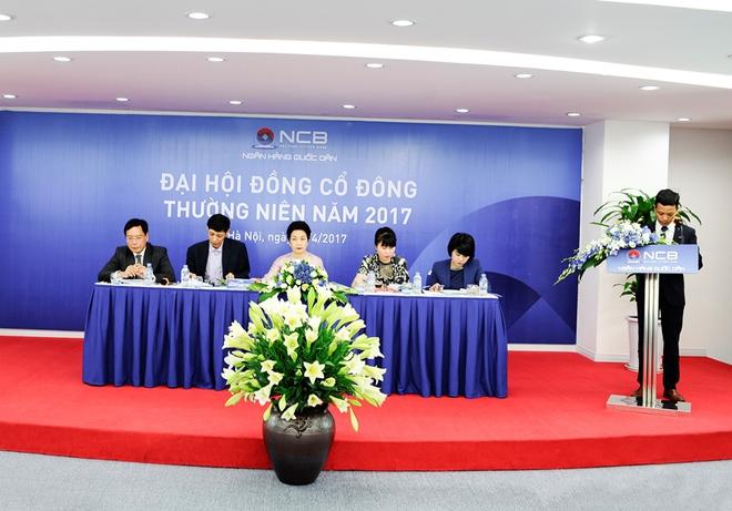 ĐHĐCĐ NCB: Sẽ lựa chọn cổ đông chiến lược nước ngoài để tăng vốn gấp đôi