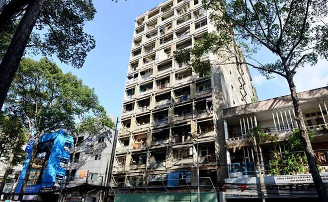 Giao quyền cho UBND quận xây dựng, sửa chung cư cũ tại thành phố Hồ Chí Minh