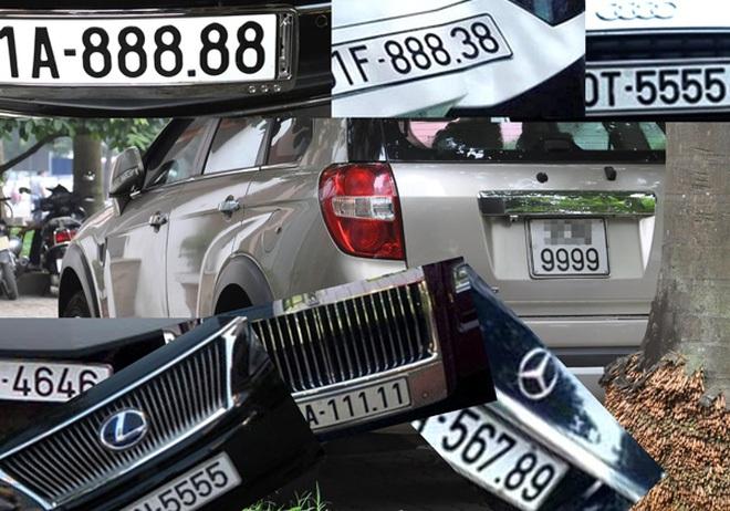 15 năm đề xuất, đấu giá biển số xe vẫn chờ được hợp thức hóa - ảnh 1