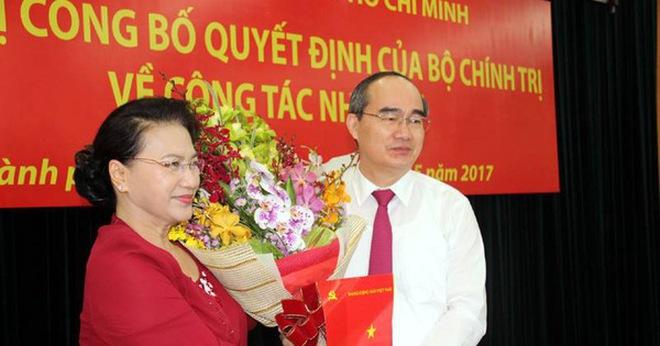 Ông Nguyễn Thiện Nhân làm Bí thư Thành uỷ TP.HCM