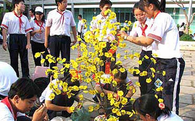 Học sinh Hà Nội được nghỉ Tết 8 ngày