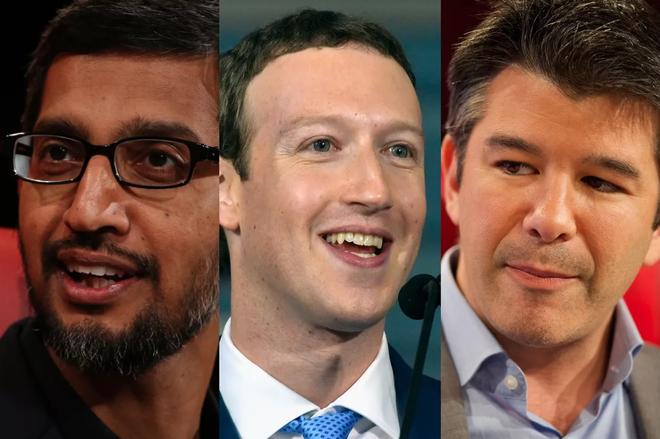 """Google là """"Chúa"""", Facebook là """"Tình yêu"""" còn Uber là """"Kẻ khó ưa"""""""