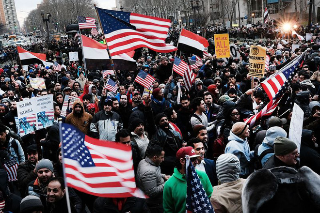 Ông Trump tiếp tục yêu cầu tòa San Francisco khôi phục sắc lệnh nhập cư