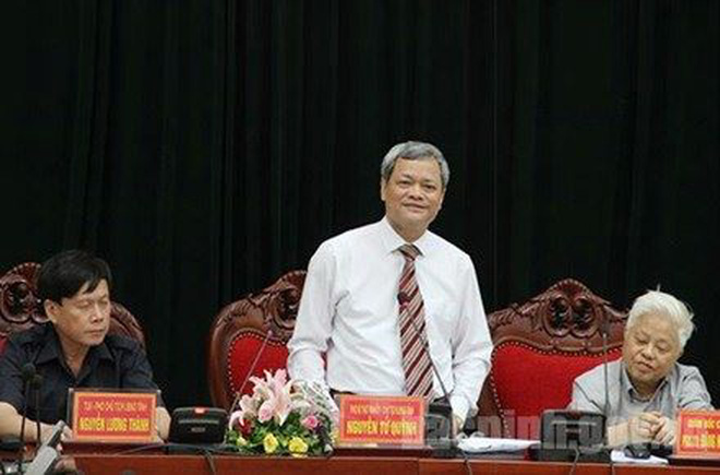 Bắc Ninh họp về vụ chủ tịch tỉnh bị nhắn tin đe dọa