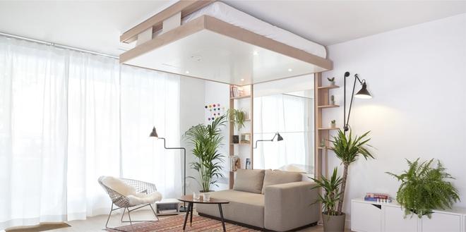 """Những chiếc giường """"cất gọn trên trần nhà"""" mà nằm mơ bạn cũng muốn sở hữu"""