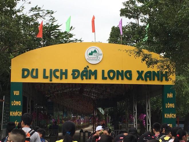 Dân kéo đến khu du lịch Đầm Long đòi trả lại đất, Hà Nội chỉ đạo giải quyết, làm rõ vụ việc