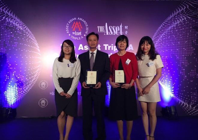 """BIDV là """"nhà tư vấn phát hành trái phiếu tốt nhất Việt Nam năm 2016"""""""