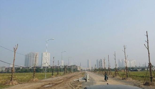 Đất nền phía Tây Hà Nội sẽ tiếp tục tăng trưởng mạnh mẽ trong năm 2017