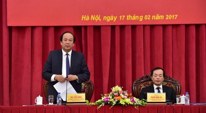 Thủ tướng nhắc nhở việc doanh nghiệp 'lên xếp hàng' ở Bộ Xây dựng