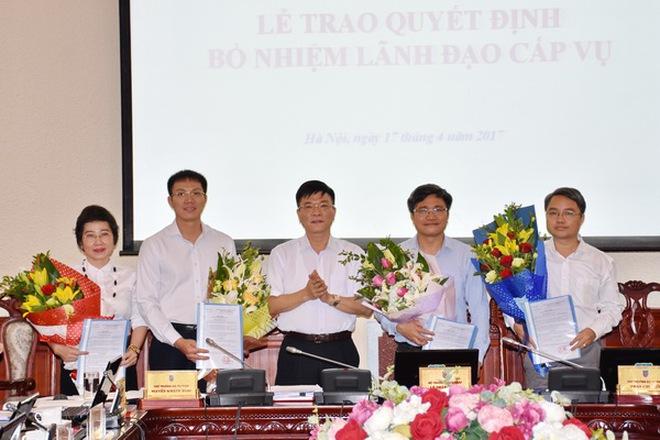 Bộ Tư pháp bổ nhiệm nhiều chức danh lãnh đạo quan trọng