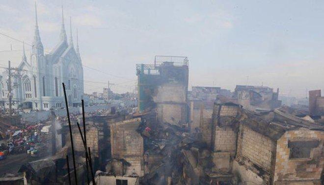 Philippines: 15.000 người mất nhà cửa do hỏa hoạn