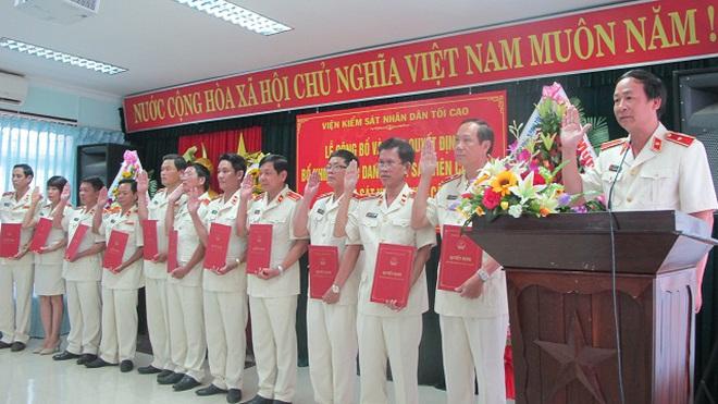 VKSNDTC bổ nhiệm hàng loạt nhân sự mới