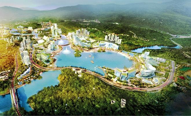 Vị trí dự án khu nghỉ dưỡng giải trí có casino ở Vân Đồn mà Sun Group và FLC muốn đầu tư là khác nhau