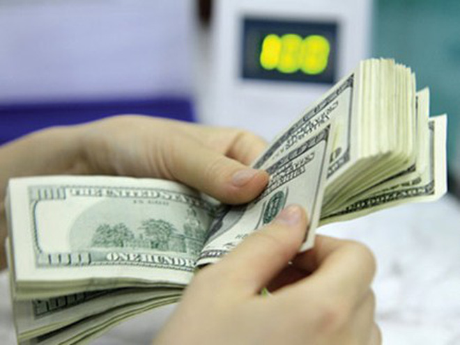 USD ngân hàng tăng mạnh, trong 3 ngày tăng gần 100 đồng