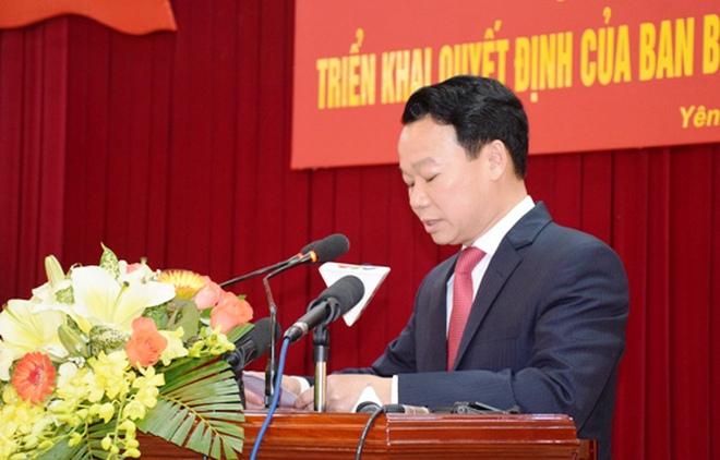 Thứ trưởng Bộ Xây dựng Đỗ Đức Duy làm phó bí thư Tỉnh ủy Yên Bái