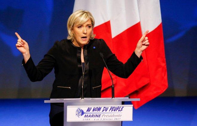 Làn sóng ủng hộ bà Marine Le Pen tại các vùng công nghiệp Pháp