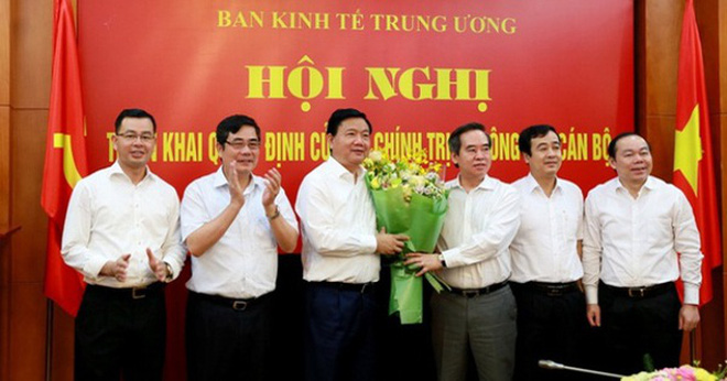 Ông Đinh La Thăng chính thức về nhận nhiệm vụ Phó Ban Kinh tế Trung ương