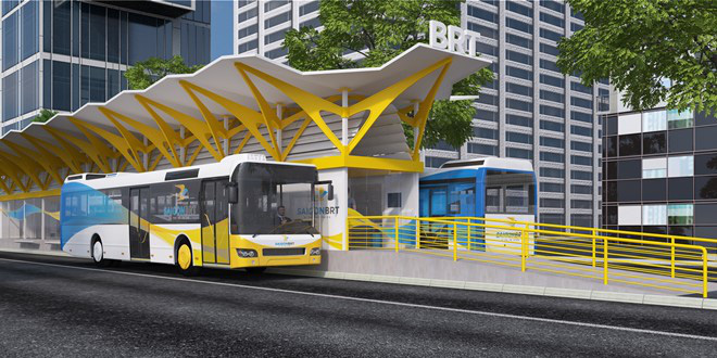 Người dân thủ đô chấm điểm xe buýt nhanh BRT