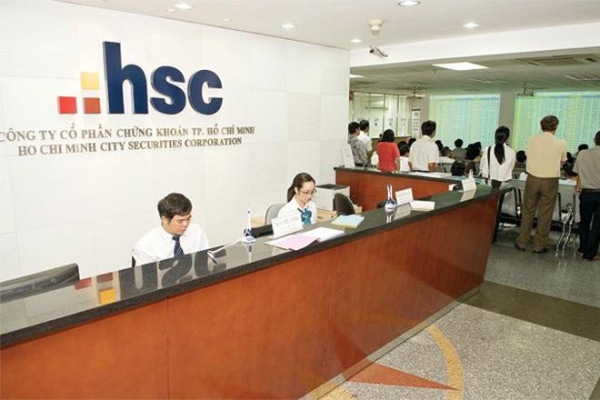 CTCK HSC lãi 95 tỷ đồng quý 1/2017, bán cổ phiếu Vietjet, mua HAG và HSG