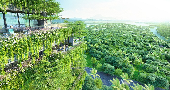 Flamingo mở bán tòa nhà 5 vạn cây xanh hút giới đầu tư