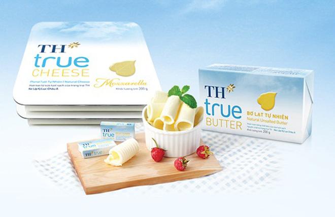 TH ra mắt sản phẩm bơ và phomat từ sữa tươi sạch nguyên chất