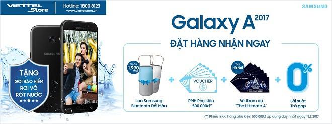 Sự kiện ra mắt sản phẩm Samsung A.2017 cùng ca sỹ Đông Nhi