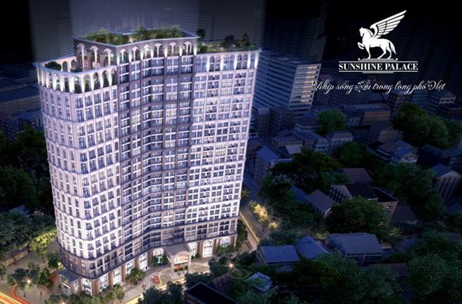 Sunshine Palace tự tin ra nhập mảng thị trường sôi động phía Nam Hà Nội