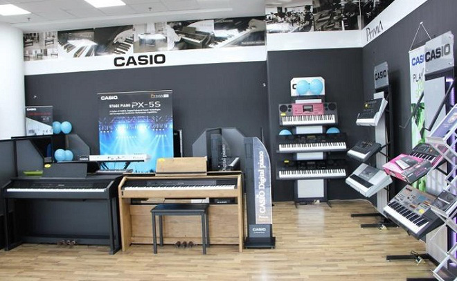 Casio – từ con số 0 đến thương hiệu nhạc cụ hàng đầu tại Việt Nam