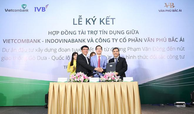 Ký kết hợp đồng tài trợ tín dụng 1.450 tỷ đồng cho dự án BT