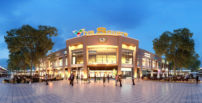 TTTM Viva Square hút khách nhờ tính thanh khoản cao