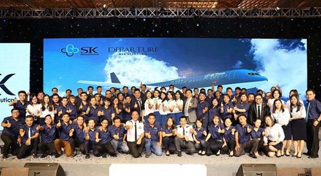 Công ty SK Pharmaceutical ra mắt thị trường Dược Việt Nam