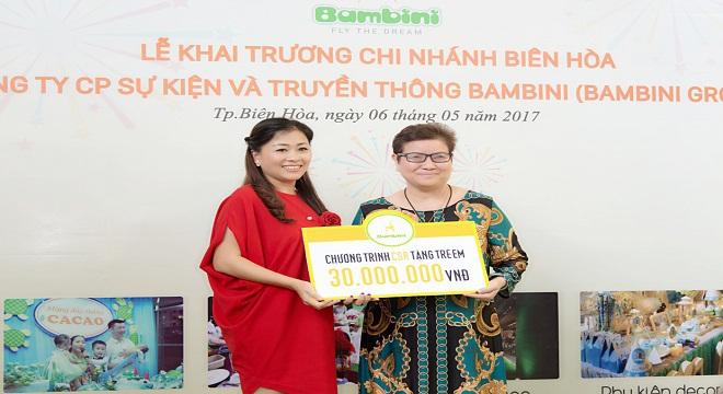 Bambini Group - chi nhánh Biên Hòa chính thức đi vào hoạt động