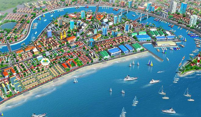 Nhà phố thương mại tại Phan Thiết thu hút đầu tư