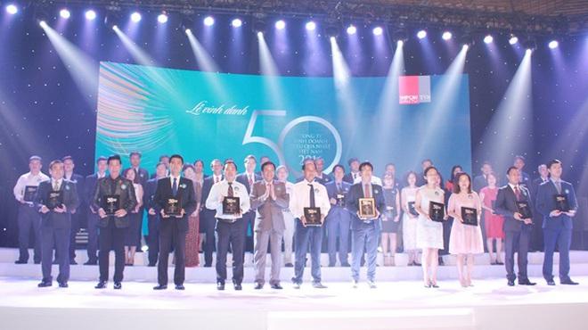 """Đất Xanh xuất sắc vào """"Top 2 doanh nghiệp bđs kinh doanh hiệu quả nhất Việt Nam"""""""