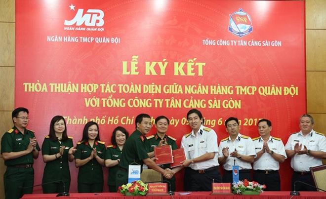 MB và Tân Cảng Sài Gòn bắt tay hợp tác toàn diện