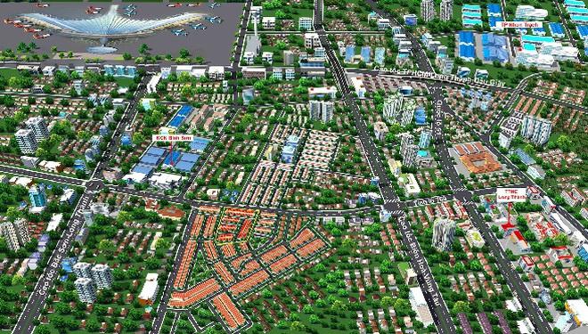 Cơ hội đầu tư đất nền thương mại liền kề sân bay quốc tế Long Thành