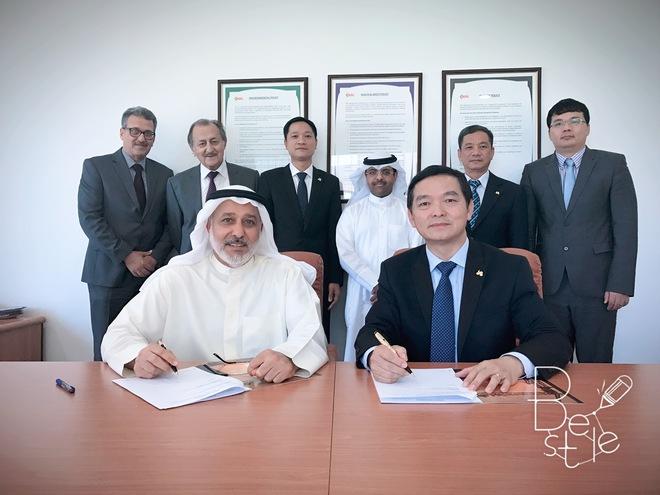 Hòa Bình (HBC) hợp tác với đối tác Kuwait, phát triển thị trường ra Trung Đông